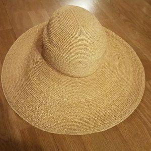 Helen Kaminski Sage Raffia Hat